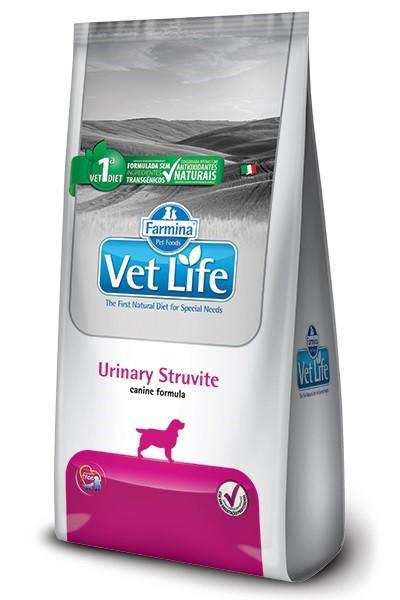 Ração Vet Life Natural Urinary Struvite para Cães Adultos 2kg