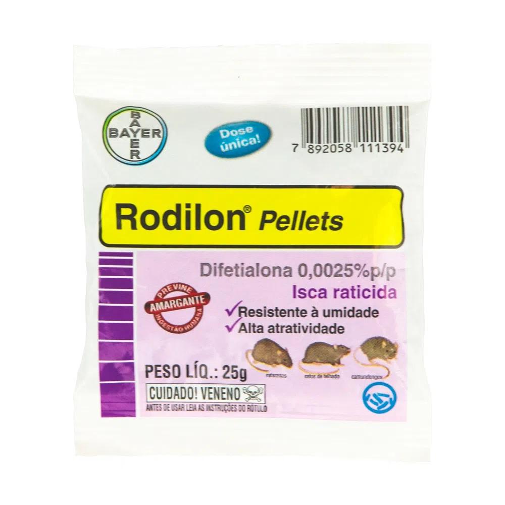 Raticida Rodilon Bayer 25g