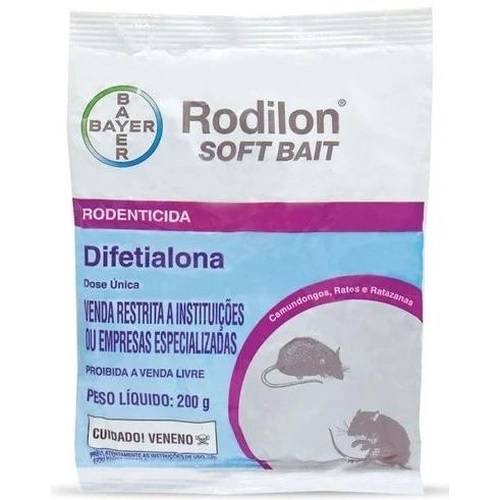 Raticida Rodilon Soft Bait 200g
