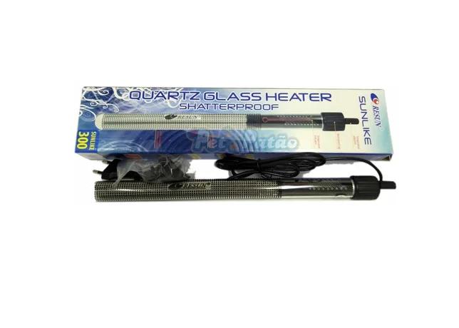 Resun Termostato 300w P/ Aquarios Até 300l 127v C/ Nfe