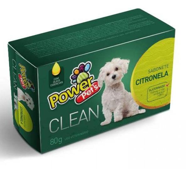 Sabonete power pets Citronela 80gr