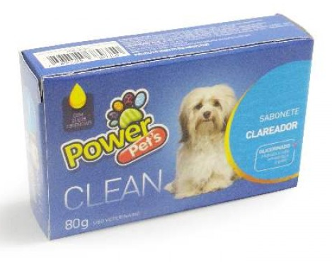 Sabonete Power Pets Clareador 80g