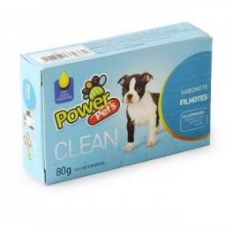 Sabonete Power Pets Clean Filhotes 80 g