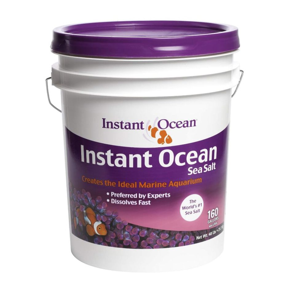 Sal Aquário Marinho Instant Ocean Balde de 21,7kg