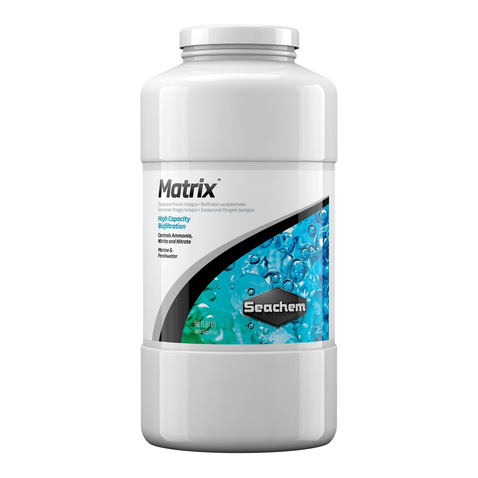 Seachem - Matrix - Mídia de filtragem biológica - 1 L
