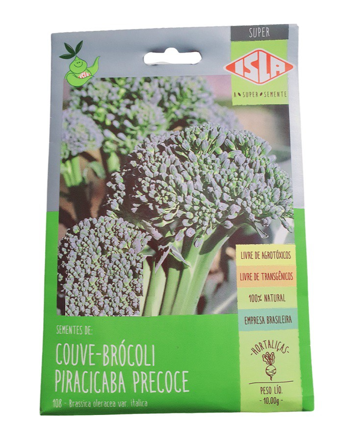 Semente Isla Couve-Brócoli Piracicaba Precoce 10g
