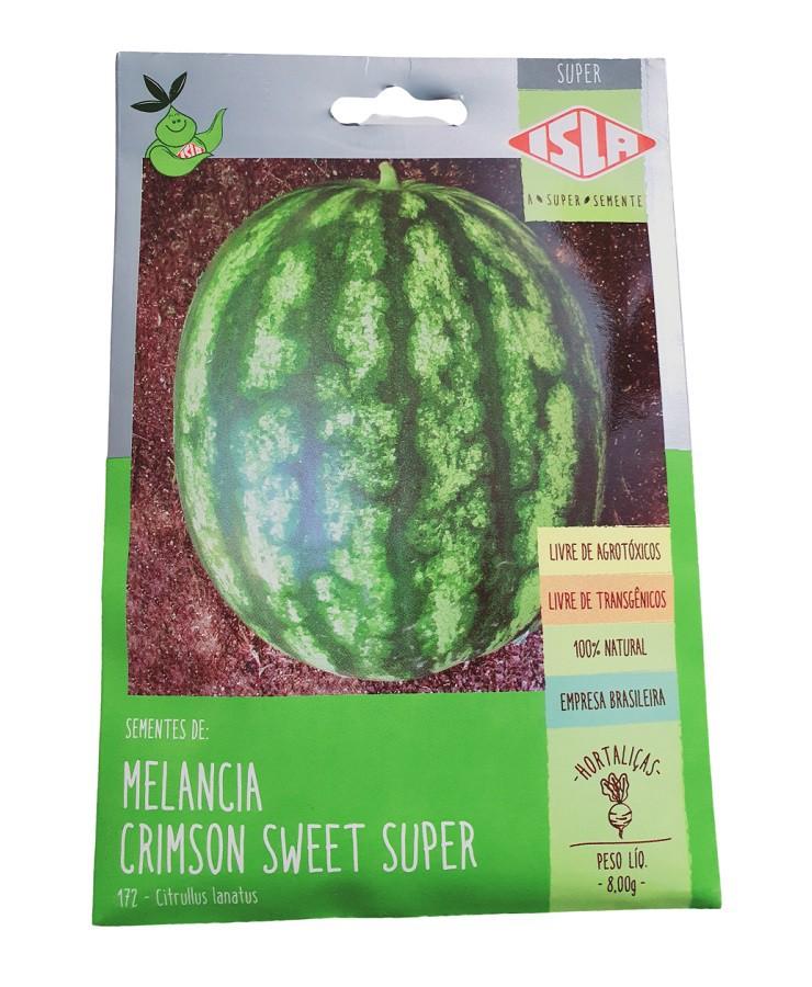 Sementes Isla Melancia Crimson Sweet Super 8g