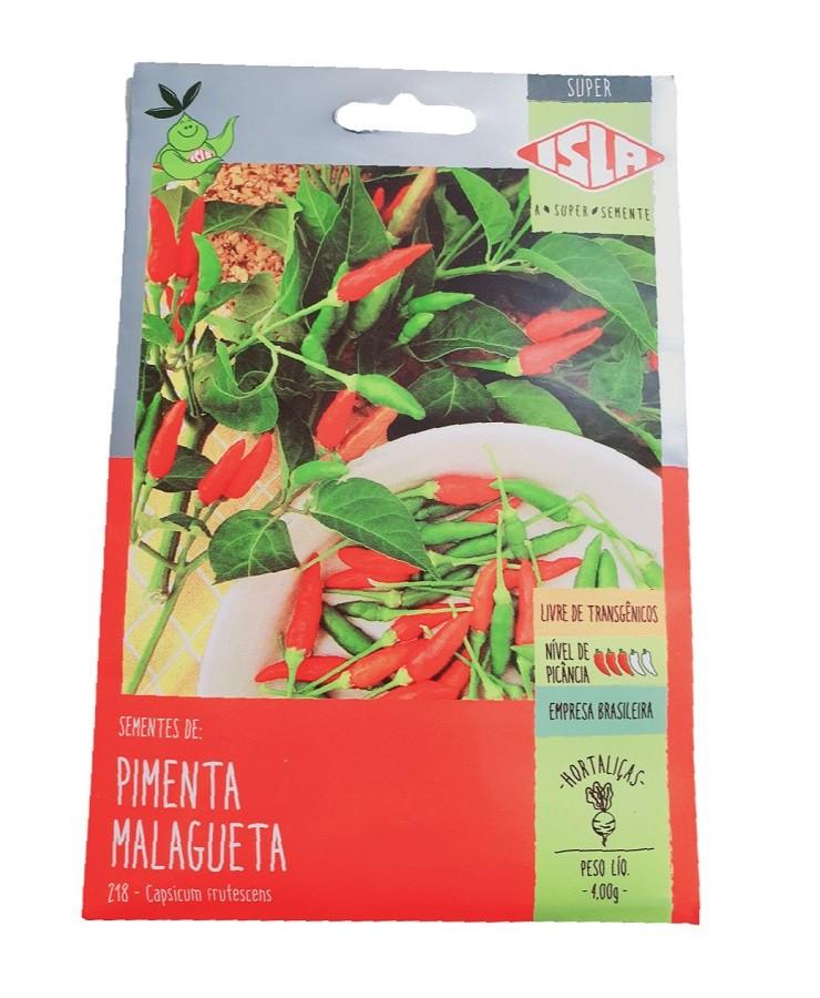 Sementes Isla Pimenta Malagueta 4g