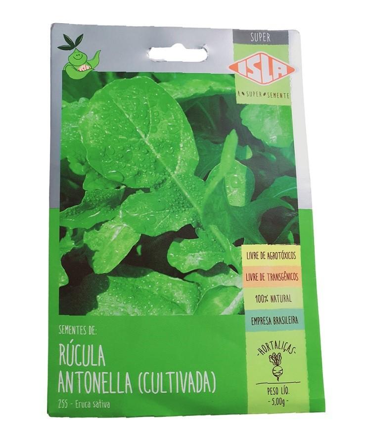 Sementes Isla Rúcula Antonella (Cultivada) 5g