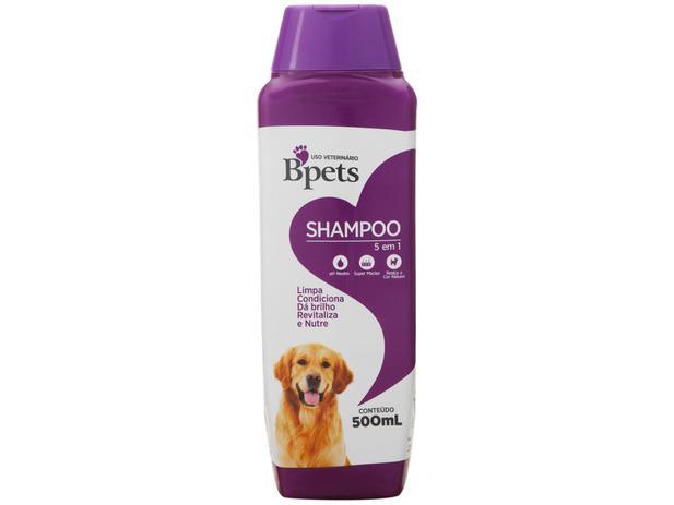 Shampoo 5 em 1 Bpets para Cães e Gato 500ml