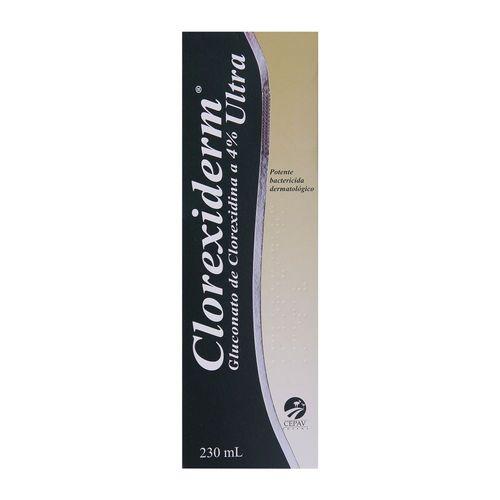 Shampoo Antibacteriano Clorexiderm 4% - 230mL
