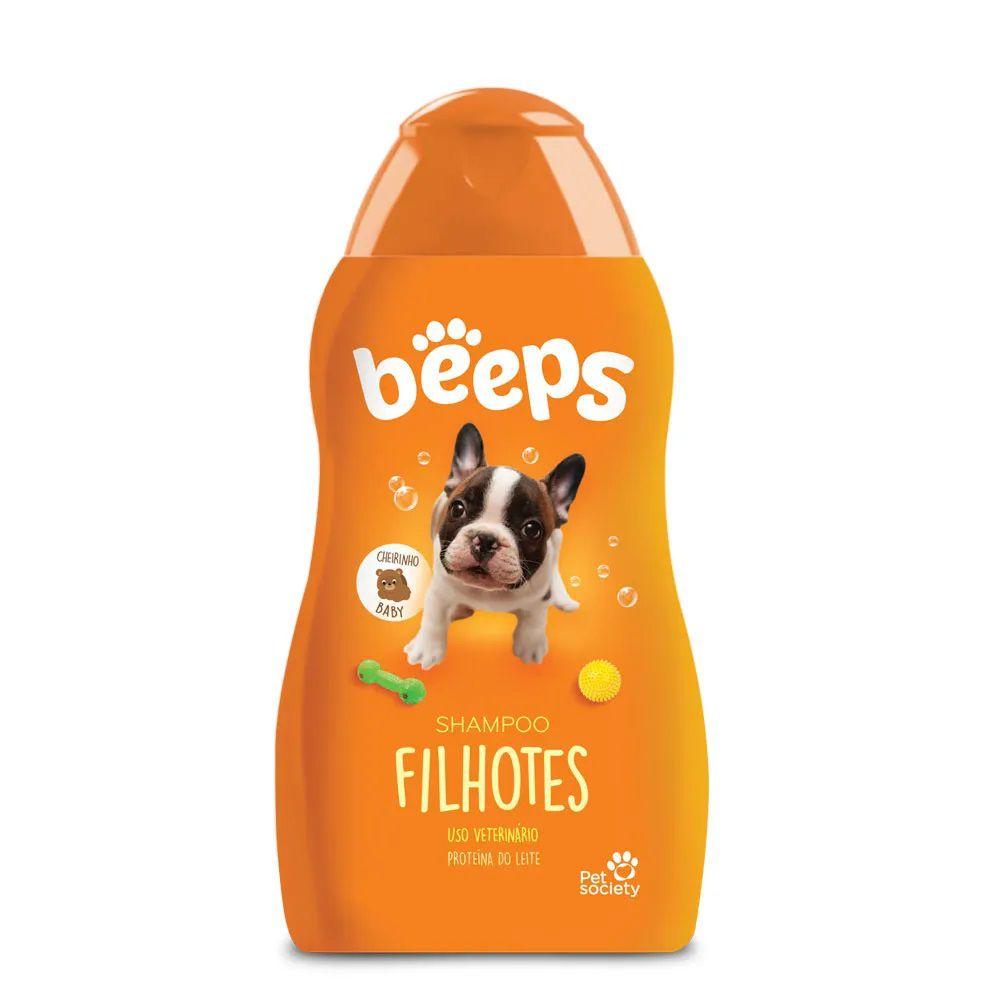 Shampoo Beeps Filhotes Cães e Gatos 500ml