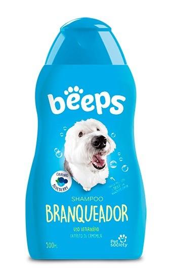 Shampoo Branqueador Beeps para Cães e Gatos 500ml