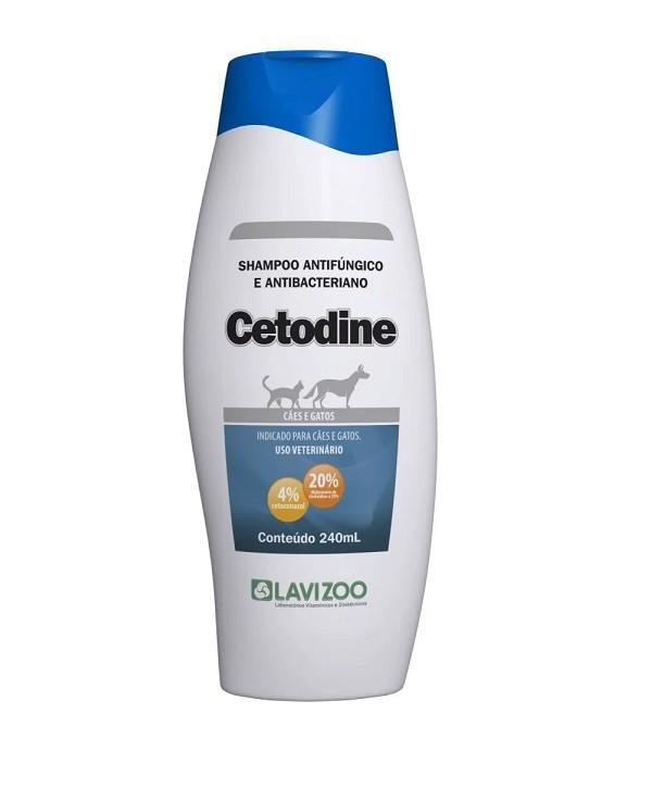 Shampoo Cetodine Cães e Gatos 240ml