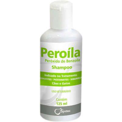 Shampoo Dermatológico Syntec Peroíla para Cães e Gatos 125ml