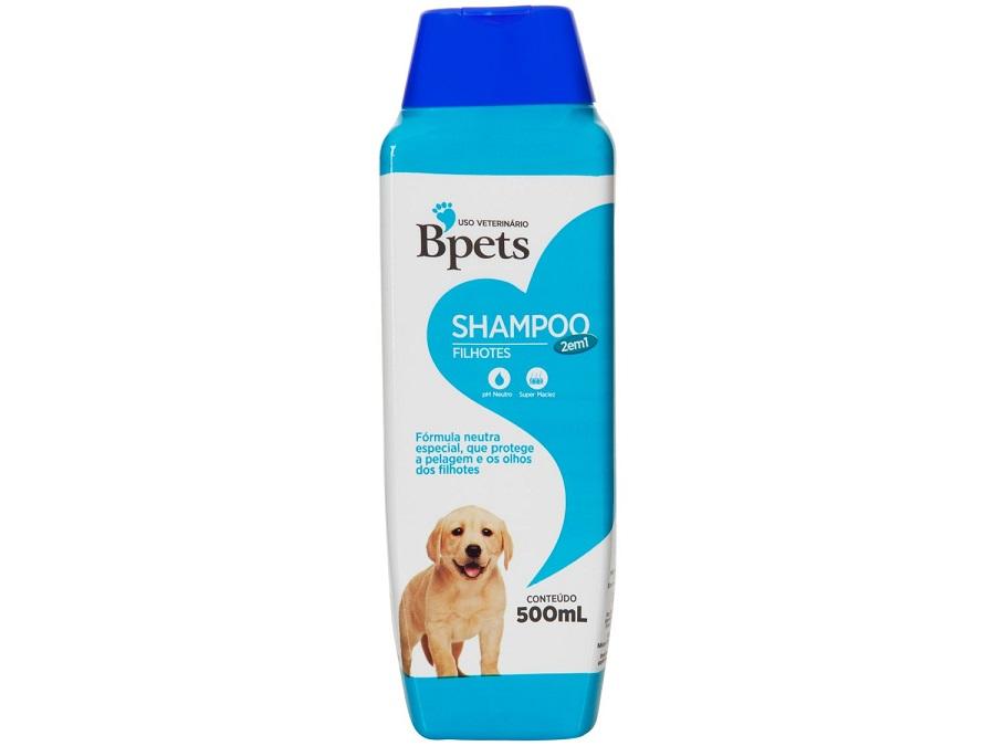 Shampoo e Condicionador Bpets Filhotes para Cães e Gatos 500ml