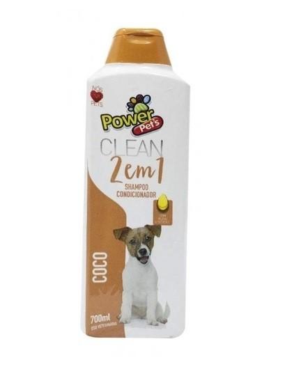 Shampoo e Condicionar 2 em 1 Coco Pets para Cães e Gatos 700ml