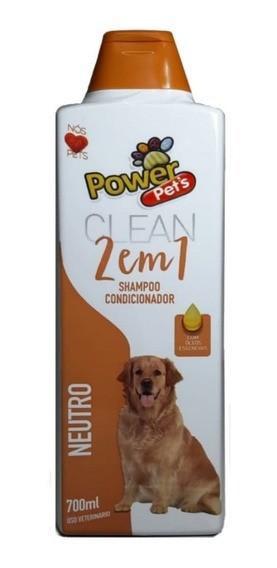 Shampoo e Condicionar 2 em 1 Neutro Pets para Cães e Gatos 700ml