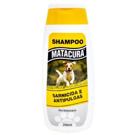 Shampoo Matacura Sarnicida e Anti-Pulgas 200ml
