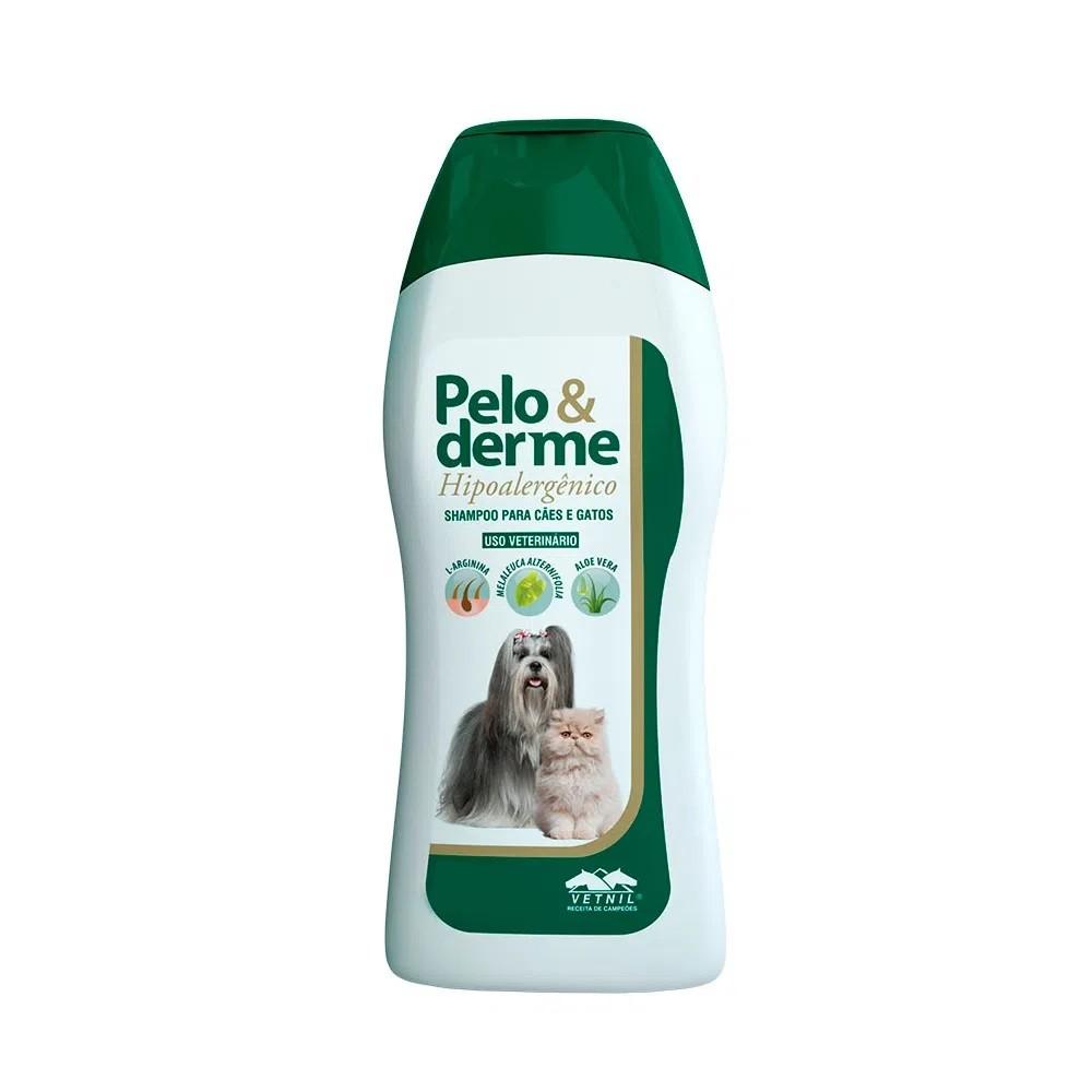 Shampoo Pelo & Derme Hipoalergênico para Cães e Gatos 320ml