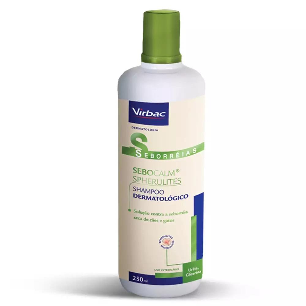 Shampoo Sebocalm Spherulites para Seborreia para Cães e Gatos 250ml