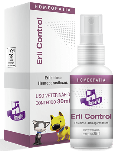Sistema de Terapia Homepática Home Pet Erli Control - 30ml