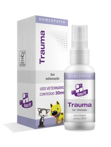 Sistema de Terapia Homepática Homeo Pet Trauma 30ml
