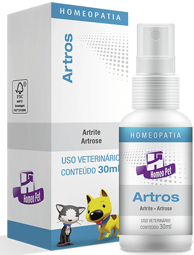 Sistema de Terapia Homepática Homeo Pet Artros 30ml