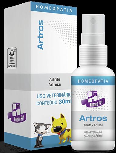 Sistema de Terapia Homepática Homeo Pet Artros - 30ml