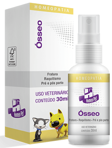 Sistema de Terapia Homepática Homeo Pet Ósseo - 30ml