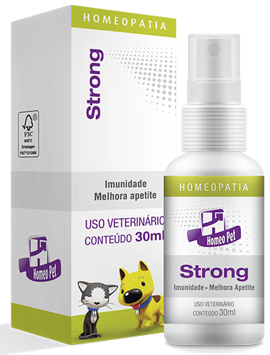 Sistema de Terapia Homepática Homeo Pet Strong - 30ml