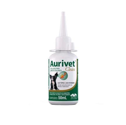 Solução Otológica Aurivet Clean Vetnil 50ml