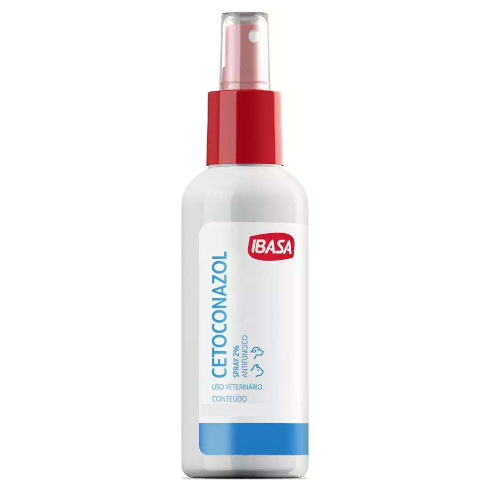 Spray Antifúngico Ibasa Cetoconazol 2% 100ml