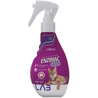 Spray Eliminador de Odores e Manchas Enzimac gatos