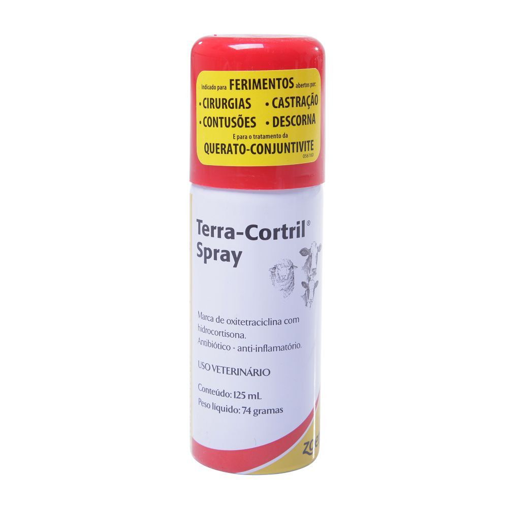 Spray Terra-Cortril 125ml