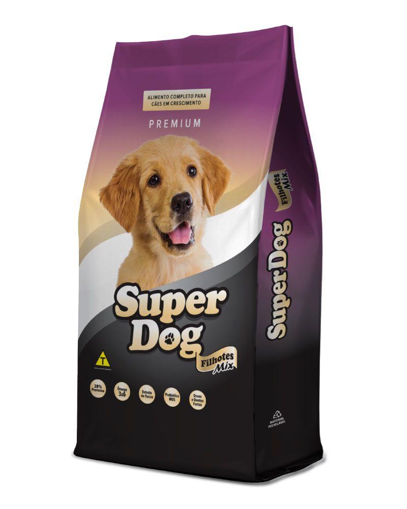 Super Dog Premium Mix Cães Filhotes