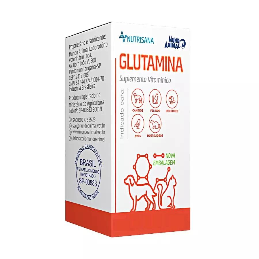 Suplemento Alimentar Glutamina Nutrisana
