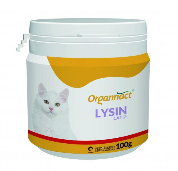 Suplemento Alimentar Lysin SF Cat para Gatos 100g