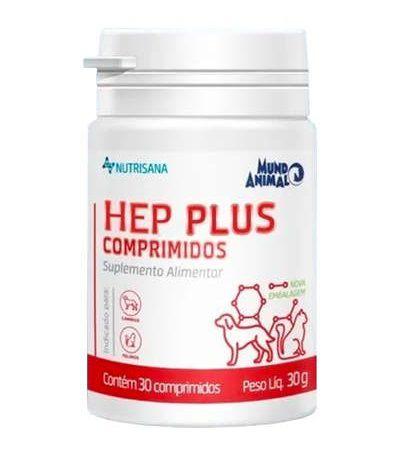 Suplemento Alimentar Hep Plus 30 Comprimidos