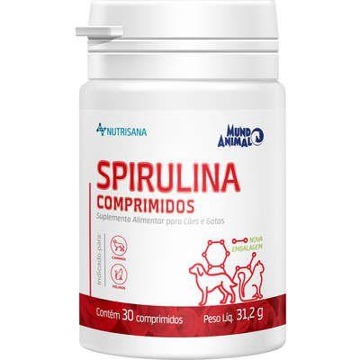 Suplemento Alimentar Spirulina 30 Compr