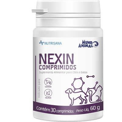 Suplemento Alimentar Nexin 30 Comprimidos para Cães e Gatos