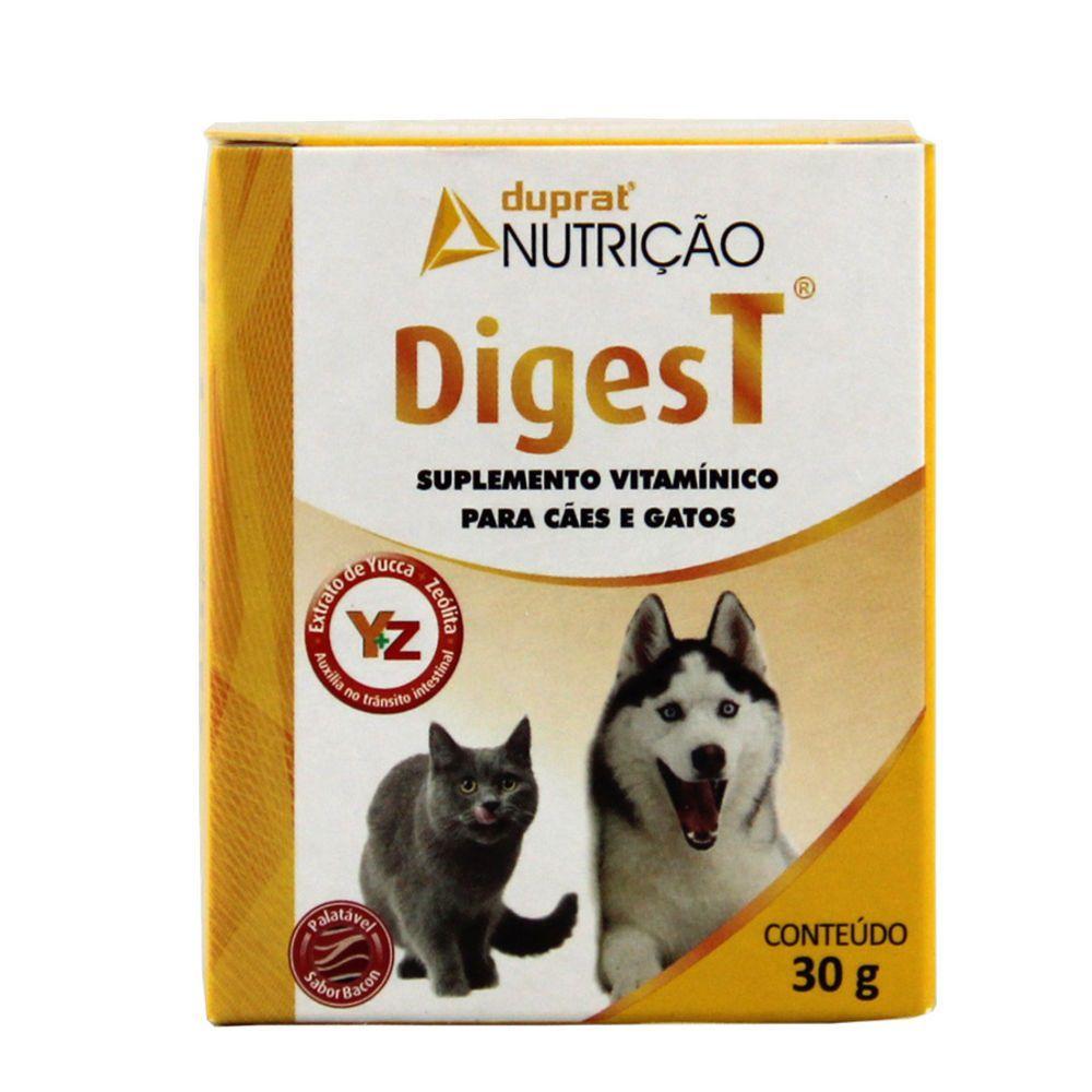 Suplemento Digest Cães E Gatos 30g