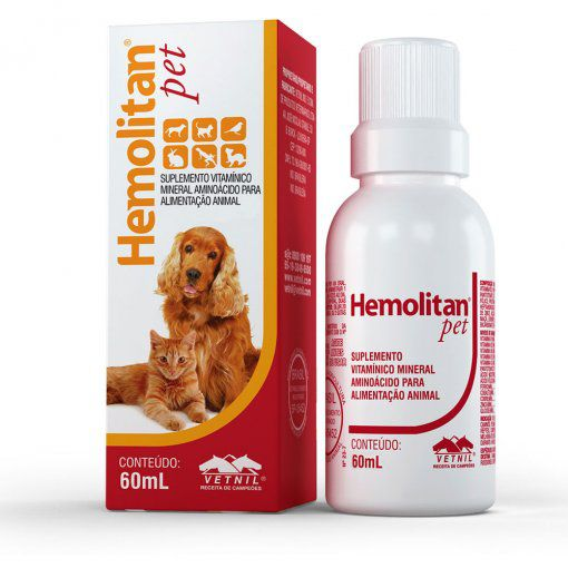 Suplemento Hemolitan Pet 60ml