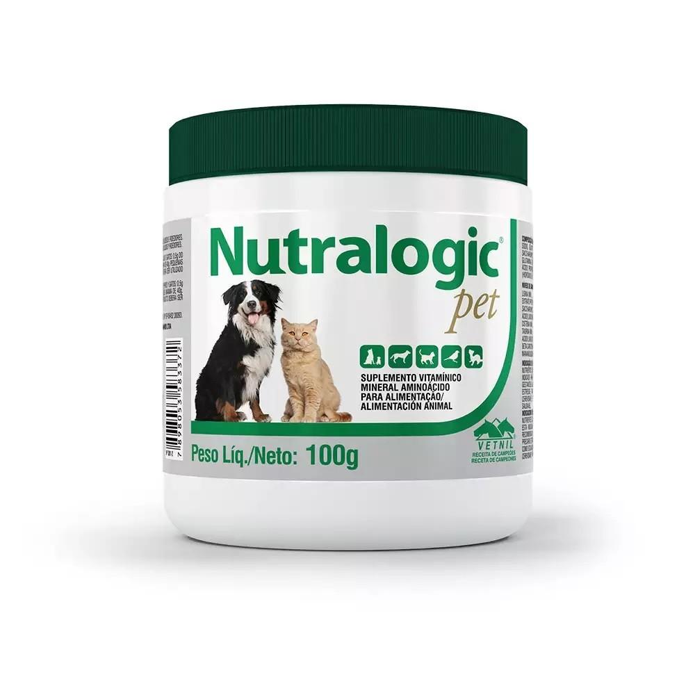Suplemento Nutralogic Pet Vetnil 100g