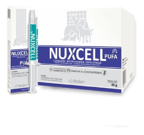 Suplemento Nuxcell Pufa para Cães 2gr