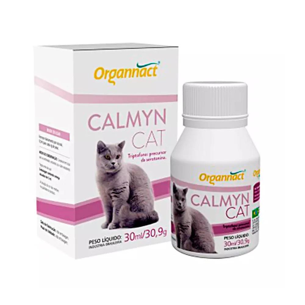 Suplemento Organnact Calmyn Cat para Gatos 30ml