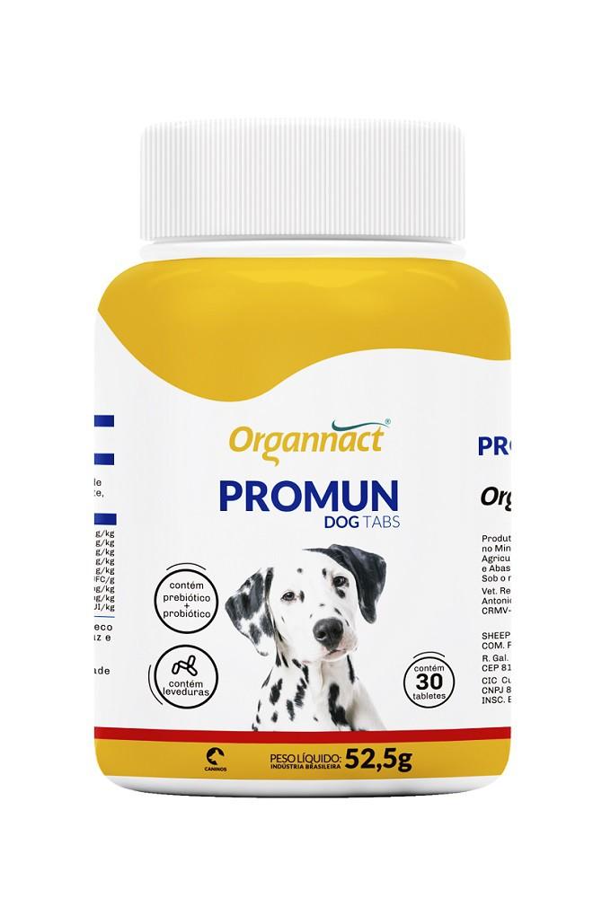 Suplemento Organnact Promun Dog Tabs 30 Comprimidos