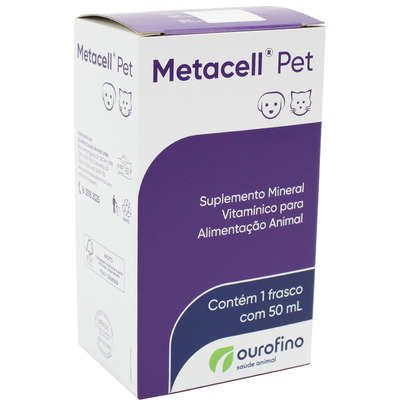 Suplemento Ourofino Metacell Pet - 50 mL