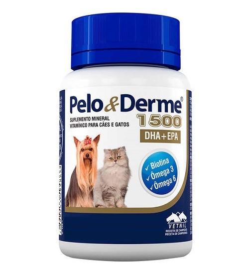 Suplemento Pelo & Derme DHA + EPA 1500mg - 60 Comprimidos