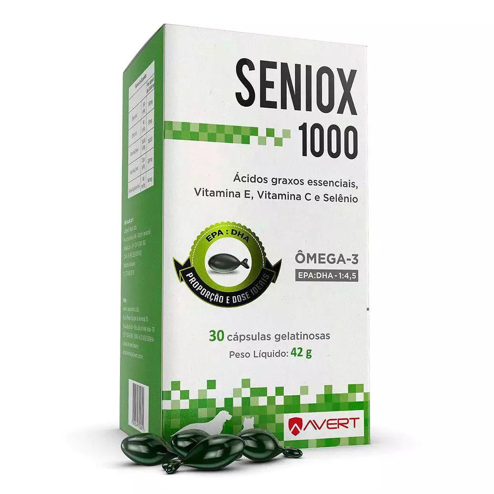 Suplemento Seniox 1000mg Avert 30 Cápsulas